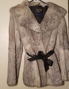 Vintage I.J Fox Cleveland women's fur coat small